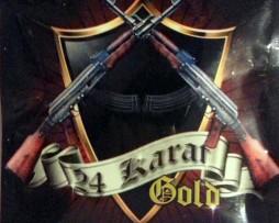AK-47 24 kARAT GOLD 10G